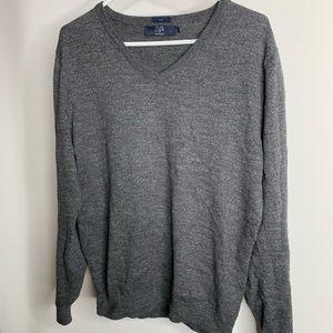 J. Crew V-neck Cotton Sweater